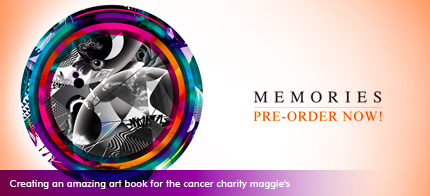 Creating an amazing art book for the cancer charity maggie's