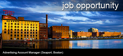 Position available in the Innovation District (Seaport, Boston)