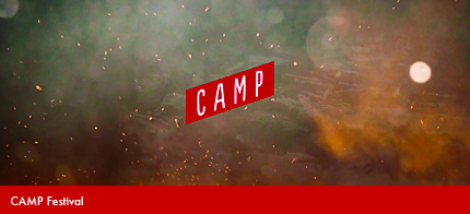 CAMP Festival is a 2-day conference about creativity, art, design and technology happening on September 8-9 in Calgary, Canada.